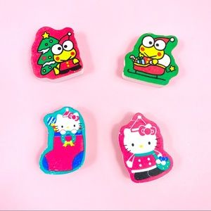3 for $20🦄 Vintage Sanrio Hello Kitty Erasers